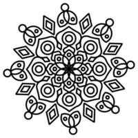 Mandala mit Ornamenten