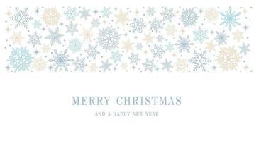 Frohe Weihnachten und Frohes Neues Jahr abstrakten Hintergrund mit Textraum. vektor