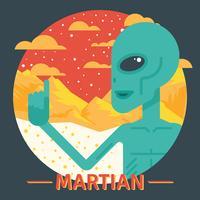 Mars-Illustration