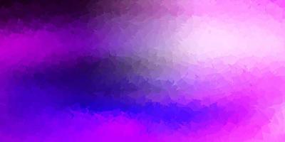 ljuslila, rosa vektor triangel mosaik tapet.
