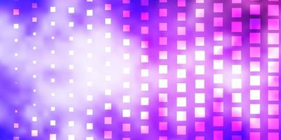 ljuslila vektor bakgrund med rektanglar.