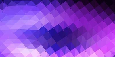 hellpurpurne Vektor geometrische polygonale Tapete.