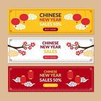 Feier des chinesischen Neujahrs vektor