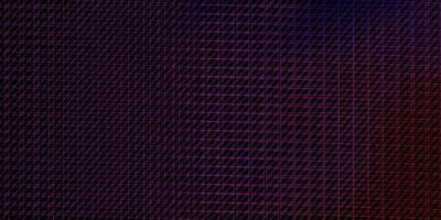 mörkrosa, blå vektorlayout med linjer.
