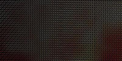 mörkrosa, gul vektorlayout med linjer.
