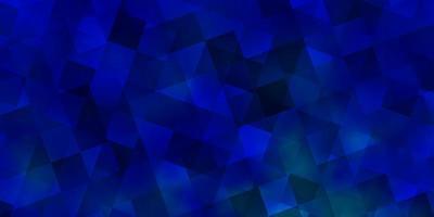 ljusblå vektor konsistens med poly stil med kuber.