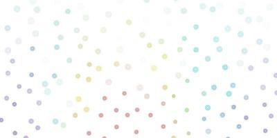 leichte mehrfarbige Vektor-Gekritzel-Textur mit Blumen.