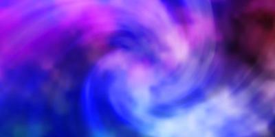 ljus flerfärgad vektormall med himmel, moln.