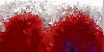 geometrische polygonale Tapete des dunklen roten Vektors. vektor