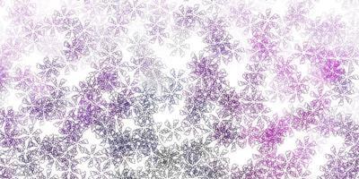 ljuslila vektor abstrakt konstverk med blad.