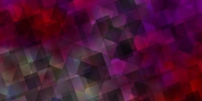 ljusröd, gul vektorstruktur med triangulär stil. vektor