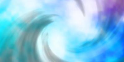 ljusrosa, blå vektorstruktur med molnig himmel.