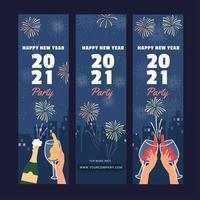 Silvesterparty feiern vektor