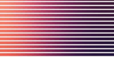 mörkrosa, rött vektormönster med linjer.