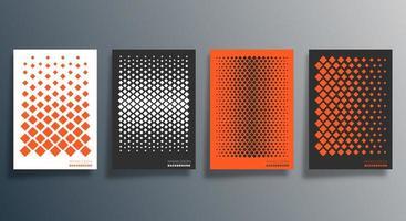 minimales geometrisches Design für Flyer, Poster, Broschürenumschlag, Hintergrund, Tapete, Typografie oder andere Druckprodukte. Vektorillustration vektor
