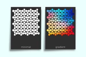 abstrakt geometrisk lutning konsistens minimal designuppsättning vektor