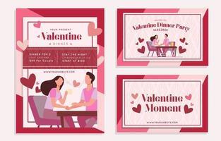 schönes Paar am Valentinstag Poster Kit