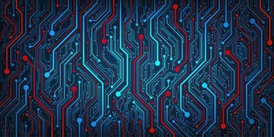 Design im Konzept der elektronischen Leiterplatten vektor