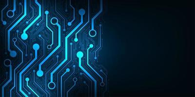 design i konceptet elektroniska kretskort vektor