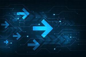 die Geschwindigkeit des Internet-Systems mit vielen Informationen vektor