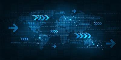 Betrieb digitaler Systeme, die Daten übertragen vektor