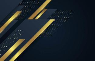 goldener Luxushintergrund vektor