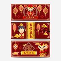 Gong XI Fa Cai Banner vektor