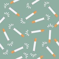cigarett sömlös bakgrund vektor