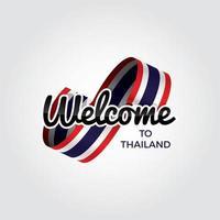 Willkommen in Thailand vektor