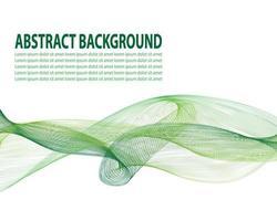 flytande affischomslag med modern grön färg. vitgrön abstrakt geometrisk mall med blandningsformer. vektor
