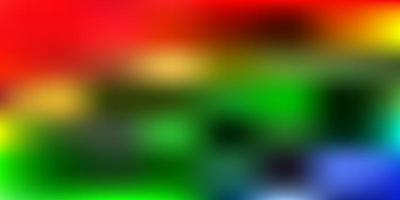 dunkles mehrfarbiges Vektorgradienten-Unschärfelayout.