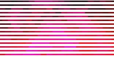 hellrosa Vektorlayout mit Linien. vektor