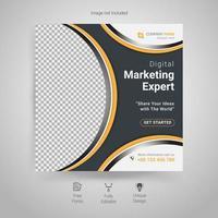 marknadsföring och marknadsföring av företag och digitala affärer vektor
