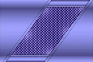 Metallhintergrund mit Kohlefasertextur vektor