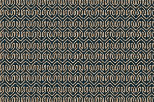 Stammes geometrisches Stoffmuster vektor