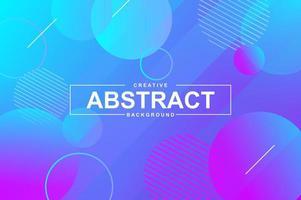 abstraktes Hintergrunddesign mit dynamischen flüssigen Formen. vektor