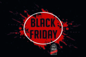 ein schwarzes Freitag-Verkaufsplakat vektor
