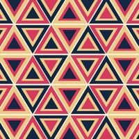 retro geometrisk mönstervektor, abstrakt retro bakgrundsmönster. vektor