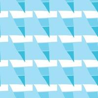 vektor sömlös textur bakgrundsmönster. handritade, blå, vita färger.