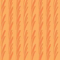 vektor sömlös textur bakgrundsmönster. handritade, orange färger.
