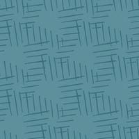 vektor sömlös textur bakgrundsmönster. handritade, blå färger.