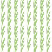 Vektor nahtlose Textur Hintergrundmuster. handgezeichnete, grüne, weiße Farben.