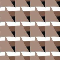 vektor sömlös textur bakgrundsmönster. handritade, bruna, svarta, vita färger.