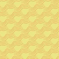 Vektor nahtlose Textur Hintergrundmuster. handgezeichnete, gelbe, orange Farben.