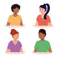 bilder av ungdomar i gruppen
