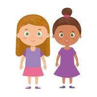süße kleine Mädchen Avatar Charakter