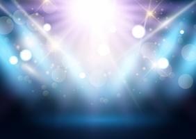 Spotlight-Anzeigehintergrund vektor