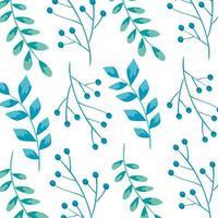 Hintergrund von Zweigen mit Blättern