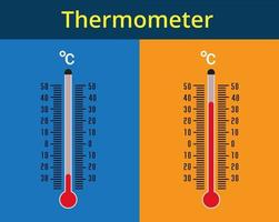 termometer ikonuppsättning