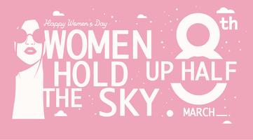 International Women's Day Quote 2 Vector